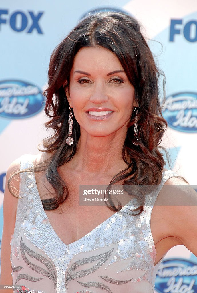 Model/agent Janice Dickinson arrives at the American Idol Season 8 Grand Finale held at Nokia Theatre L.A. Live on May 20, 2009 in Los Angeles, California.