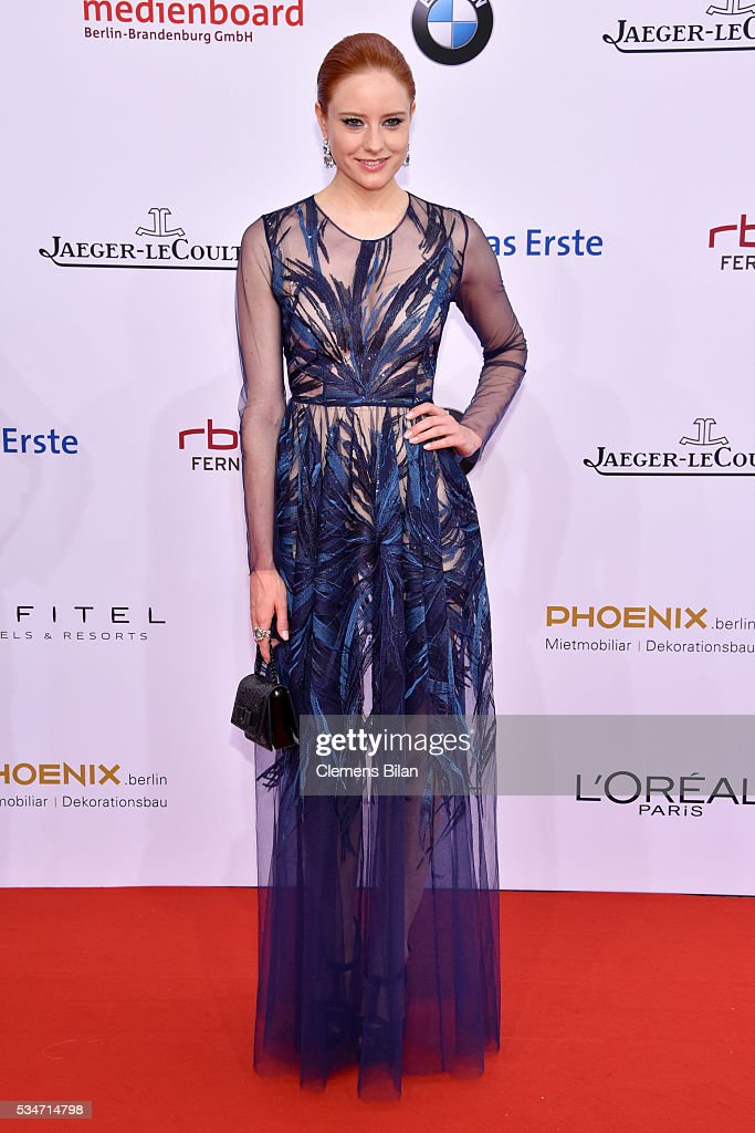 Model<a gi-track='captionPersonalityLinkClicked' href=/galleries/search?phrase=Barbara+Meier&family=editorial&specificpeople=4304499 ng-click='$event.stopPropagation()'>Barbara Meier</a> attends the Lola - German Film Award (Deutscher Filmpreis) on May 27, 2016 in Berlin, Germany.