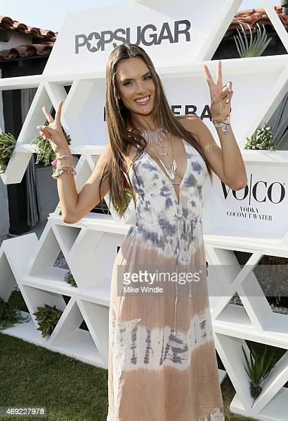 Model/designer Alessandra Ambrosio attends Alessandra Ambrosio Launches Ale by Alessandra For BaubleBar Jewelry Collection At POPSUGAR SHOPSTYLE'S...