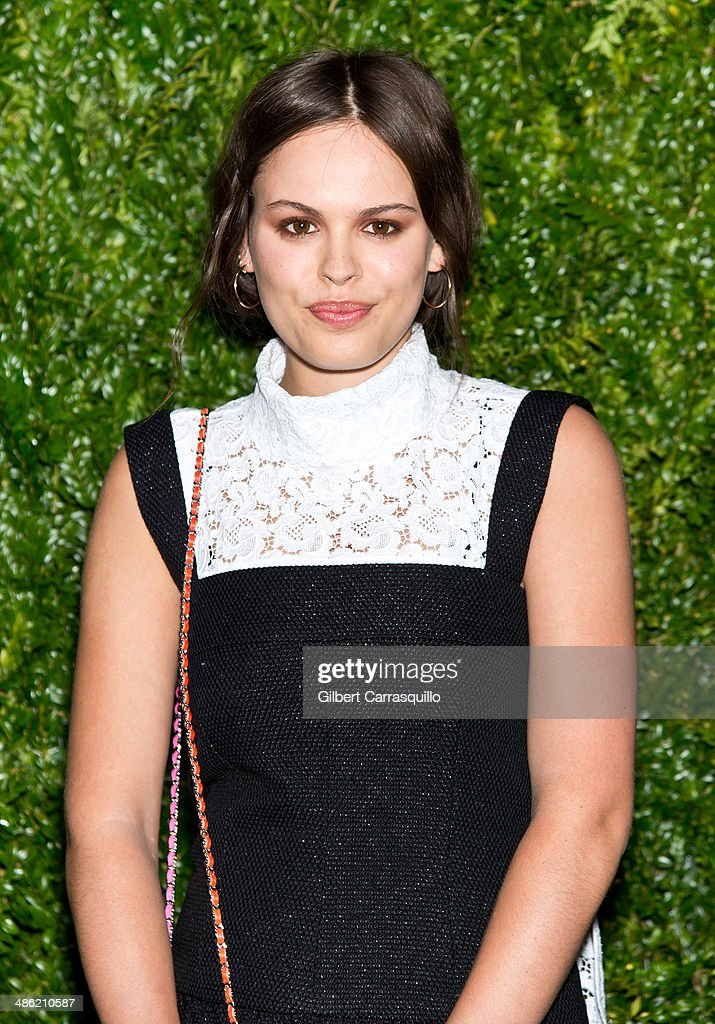 Model/DJ Atlanta de Cadenet attends the 9th annual Chanel Artists Dinner during the 2014 Tribeca Film Festival at Balthazar on April 22, 2014 in New York, New York.