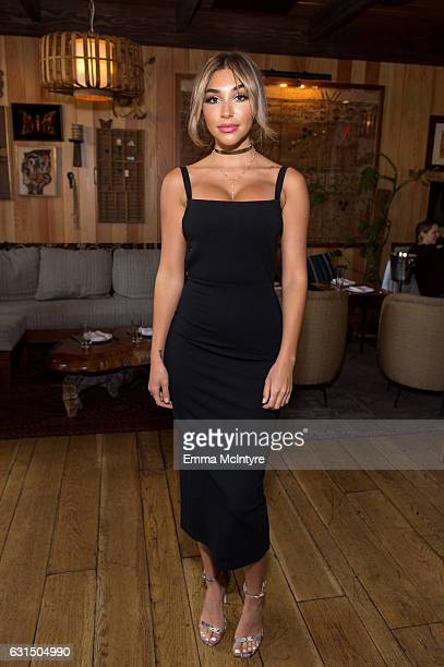 Model/DJ Chantel Jeffries attends 'ShoeDazzle x Keke Palmer Kicking it with Keke Ladies who lunch' at Estrella on January 11 2017 in West Hollywood...