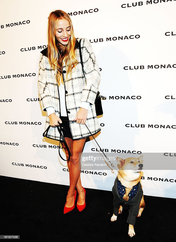 Model/DJ Harley Viera-Newton attends the opening celebration of Club Monoco's Fifth Avenue Flagship at Club Monaco Fifth Avenue on November 7, 2013 in New York City.