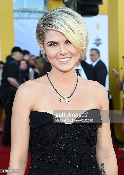 Modeling Agent Taylor Borland attends the 50th Academy of Country Music Awards at ATT Stadium on April 19 2015 in Arlington Texas
