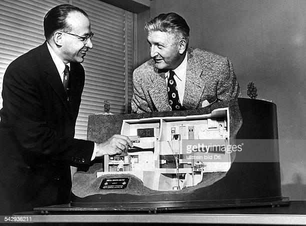 Modell eines Medizin Forschungsreaktor in Los Angeles / USA Der Reaktor soll im Auftrag der medizinischen Abteilung der University of California für...