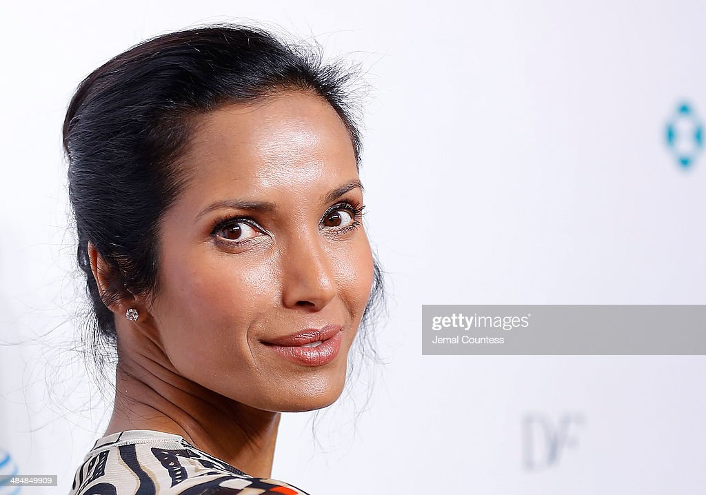 Model/media personality <a gi-track='captionPersonalityLinkClicked' href=/galleries/search?phrase=Padma+Lakshmi&family=editorial&specificpeople=201593 ng-click='$event.stopPropagation()'>Padma Lakshmi</a> attends the 5th Annual Women In The World Summit at the David Koch Theatre at Lincoln Center on April 3, 2014 in New York City.