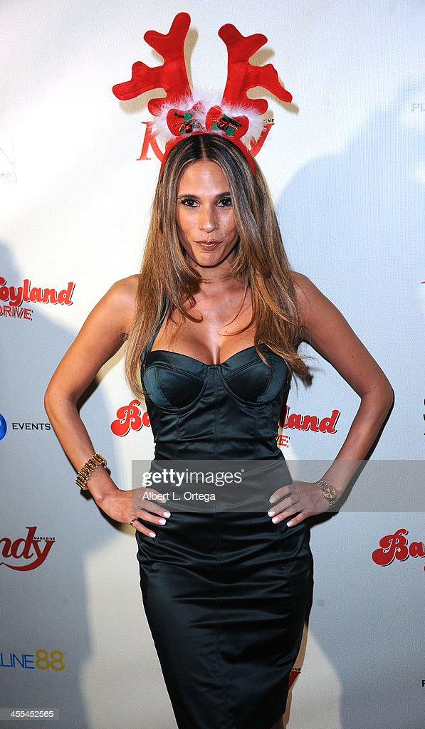Model/NBA Scout Bonnie Jill Laflin attends the 6th Annual Babes In Toyland Charity Toy Drive held at The Station at The W Hotel on December 11, 2013 in Hollywood, California.