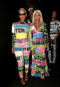 Models Amber Rose and Blac Chyna attend the 2015 MTV Video Music Awards at Microsoft Theater on August 30 2015 in Los Angeles California