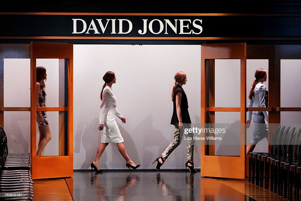 Models appear on the runway during rehearsal ahead of the David Jones A/W 2013 Season Launch at David Jones Castlereagh Street on February 6, 2013 in Sydney, Australia.