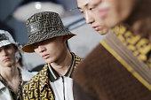 Fendi - Backstage - Milan Men's Fashion Week...