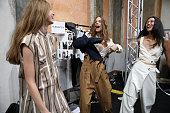 Ujoh - Backstage - Milan Fashion Week Spring/Summer 2019