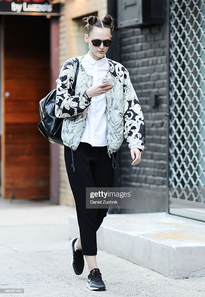 Street Style Spring 2016 New York Fashion Week Getty Images