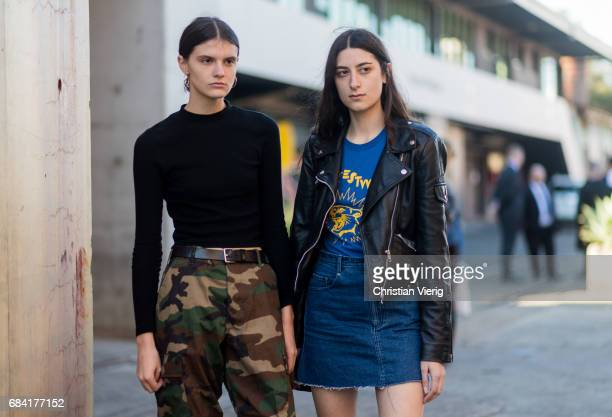 Models at day 4 during MercedesBenz Fashion Week Resort 18 Collections at Carriageworks on May 17 2017 in Sydney Australia