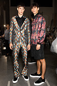 John Richmond - Backstage - Milan Men's Fashion Week...