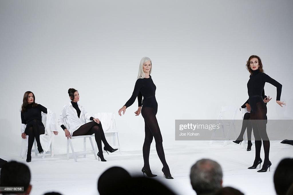'Models Never Talk' at Milk Studios on September 8, 2014 in New York City.