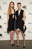 Models attend the Guggenheim International Gala PreParty made possible by Dior on November 5 2014 in New York City