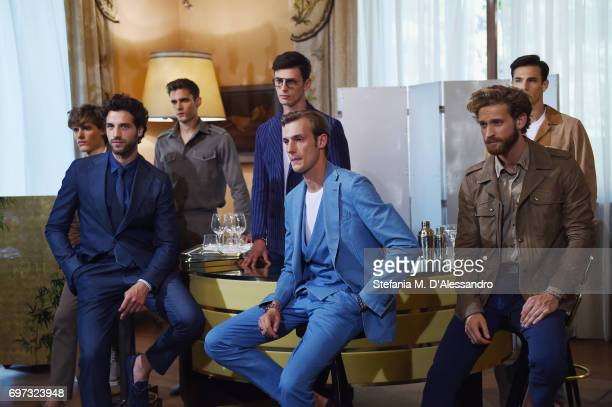 Models attend the Tod's Presentation during Milan Men's Fashion Week Spring/Summer 2018 on June 18 2017 in Milan Italy
