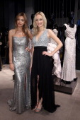 Models attend the Unique Flagship Store Opening at the new 'Koe Bogen' on November 28 2013 in Duesseldorf Germany