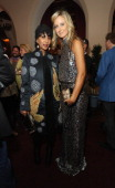 Models Gelila Assefa and Lady Victoria Hervey attend The Annie Leibovitz SUMOSize Book Launch presented by Vanity Fair Leon Max and Benedikt Taschen...