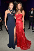 Models Gigi Hadid and Alessandra Ambrosio attend Neuro at the 23rd Annual Elton John AIDS Foundation Academy Awards Viewing Party on February 22 2015...