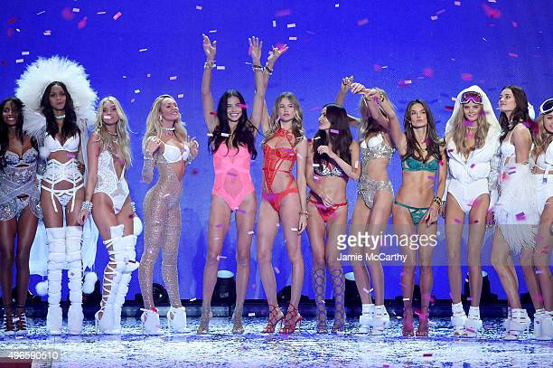 Models Jasmine Tookes Lais Ribeiro Elsa Hosk Candice Swanepoel Adriana Lima Behati Prinsloo Lily Aldridge Romee Strijd Alessandra Ambrosio Kate...