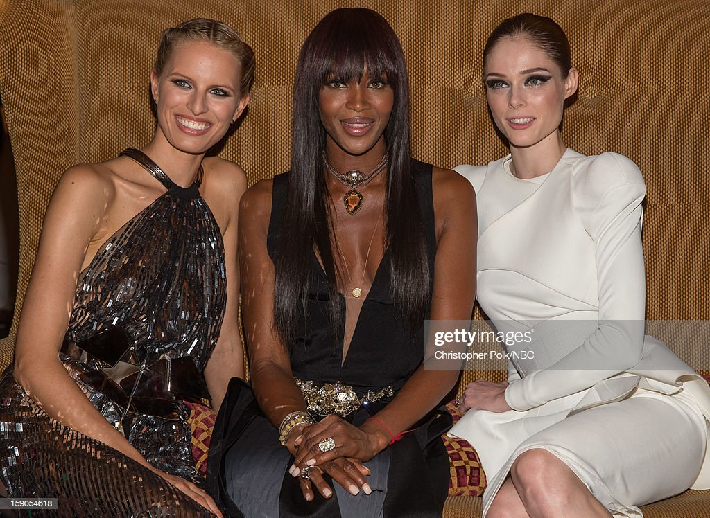 Models <a gi-track='captionPersonalityLinkClicked' href=/galleries/search?phrase=Karolina+Kurkova&family=editorial&specificpeople=202513 ng-click='$event.stopPropagation()'>Karolina Kurkova</a>, <a gi-track='captionPersonalityLinkClicked' href=/galleries/search?phrase=Naomi+Campbell&family=editorial&specificpeople=171722 ng-click='$event.stopPropagation()'>Naomi Campbell</a> and <a gi-track='captionPersonalityLinkClicked' href=/galleries/search?phrase=Coco+Rocha&family=editorial&specificpeople=4172514 ng-click='$event.stopPropagation()'>Coco Rocha</a> at the NBCUniversal 2013 TCA Winter Press Tour Party held at The Langham Huntington Hotel and Spa on January 6, 2013 in Pasadena, California.