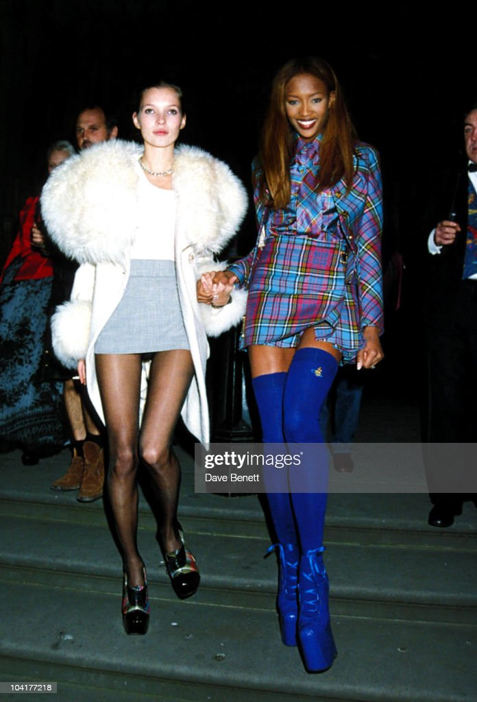 London Fashion Week Designer Of The Year Awards At The Museum Of Natural History, Kate Moss_naomi Campbell