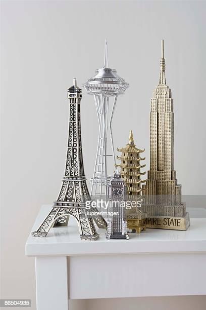 Models of skyscrapers