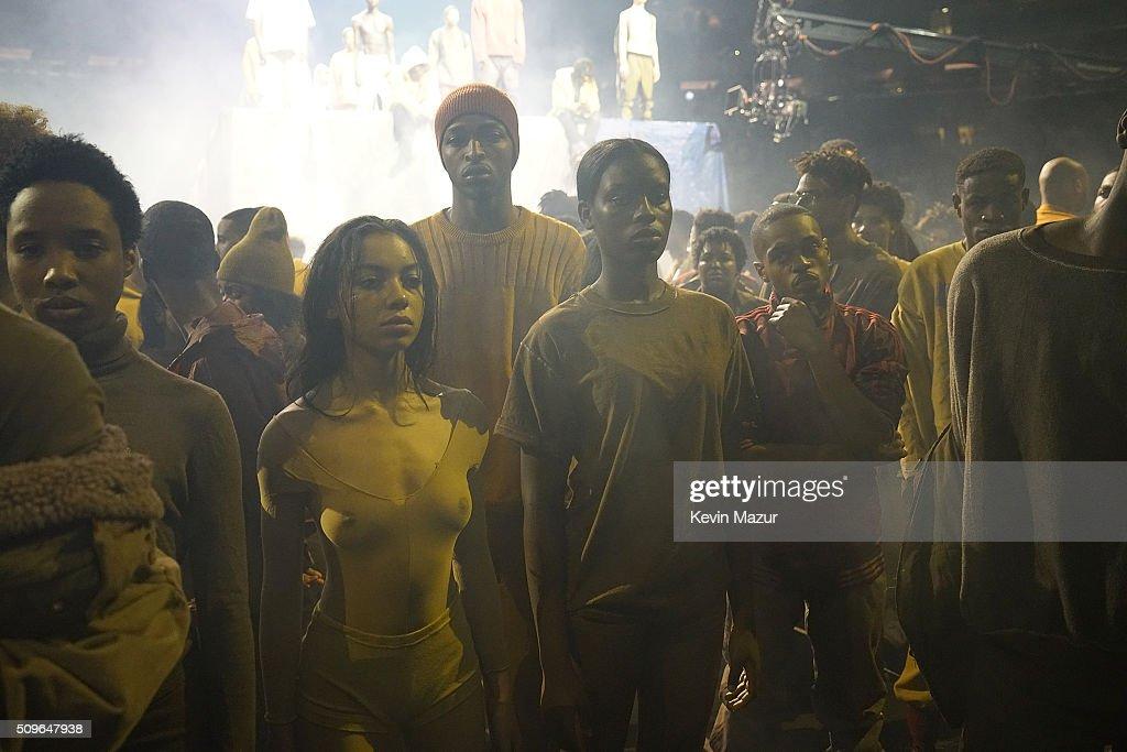 Kanye West Yeezy Season 3 Runway Getty Images