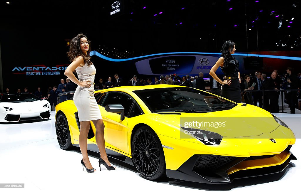 highlights of geneva motor show getty images. Black Bedroom Furniture Sets. Home Design Ideas