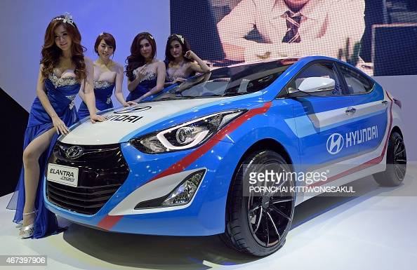 Hyundai Elantra Stock Photos And Pictures Getty Images
