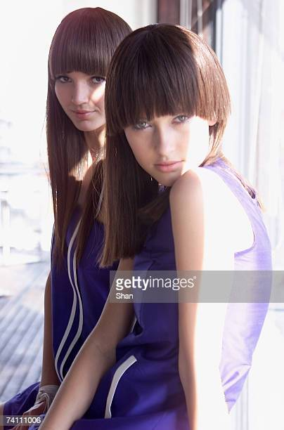 Models prepare backstage before the Camilla Marc catwalk show on day one of Rosemount Australian Fashion Week Spring/Summer 2007/08 offsite at the...