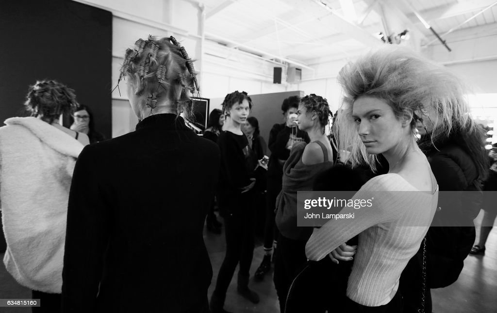 Behind the scenes at New York Fashion Week