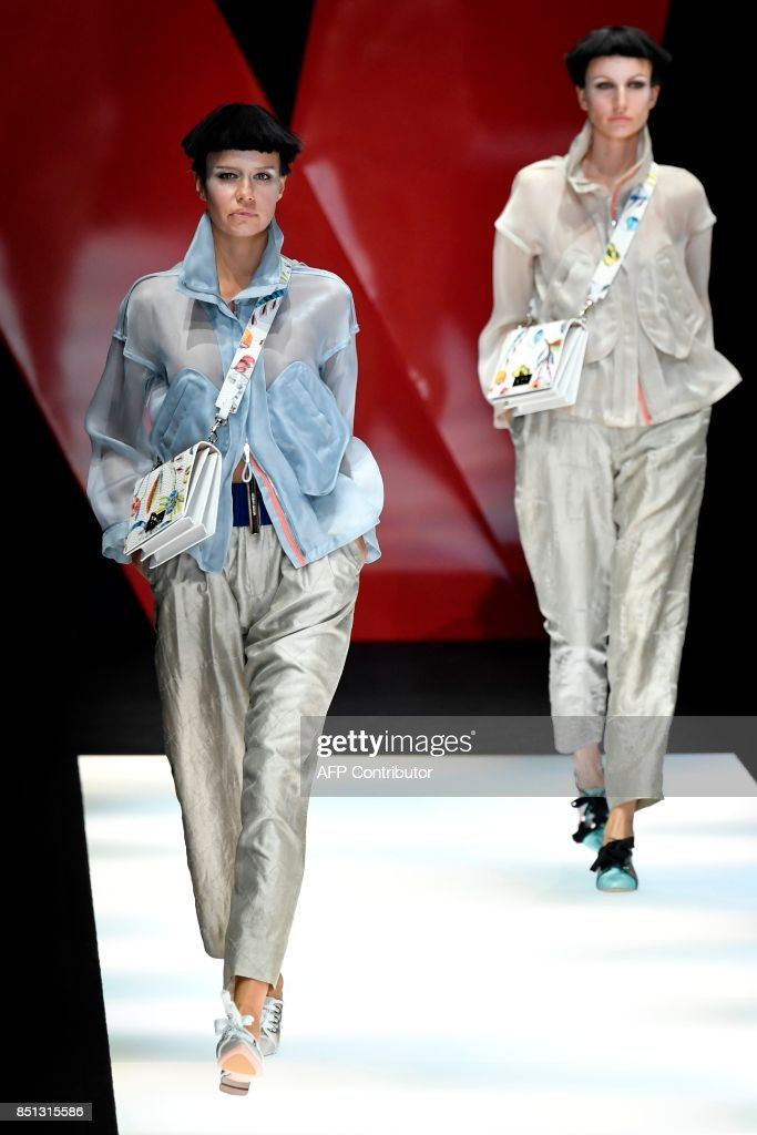 models-present-creations-for-fashion-house-giorgio-armani-during-the-picture-id851315586