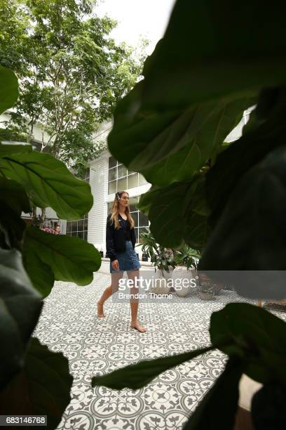 Models rehearse ahead of the Albus Lumen show at MercedesBenz Fashion Week Resort 18 Collections at La Porte Deux on May 15 2017 in Sydney Australia