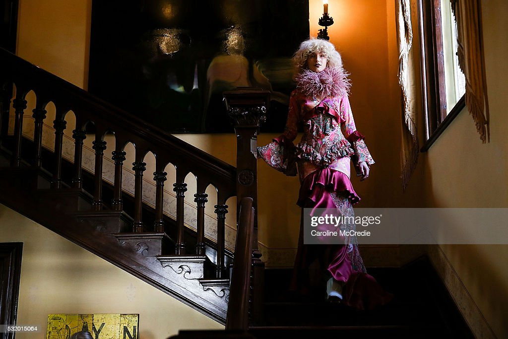 Models showcase designs during the Romance Was Born show at MercedesBenz Fashion Week Resort 17 Collections at Carthona Darling Point on May 18 2016...
