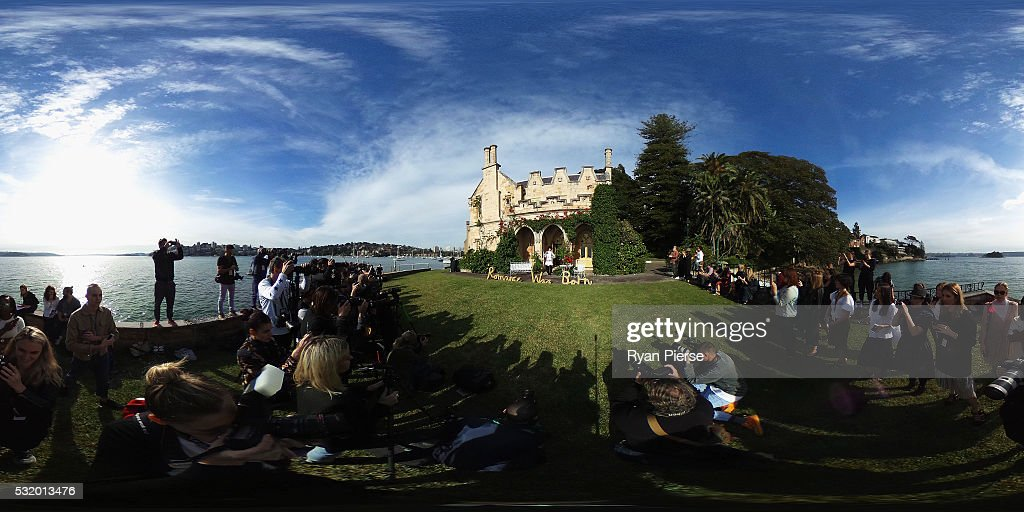Models showcase designs during the Romance was Born show during MercedesBenz Fashion Week Australia at Carthona on May 18 2016 in Sydney New South...