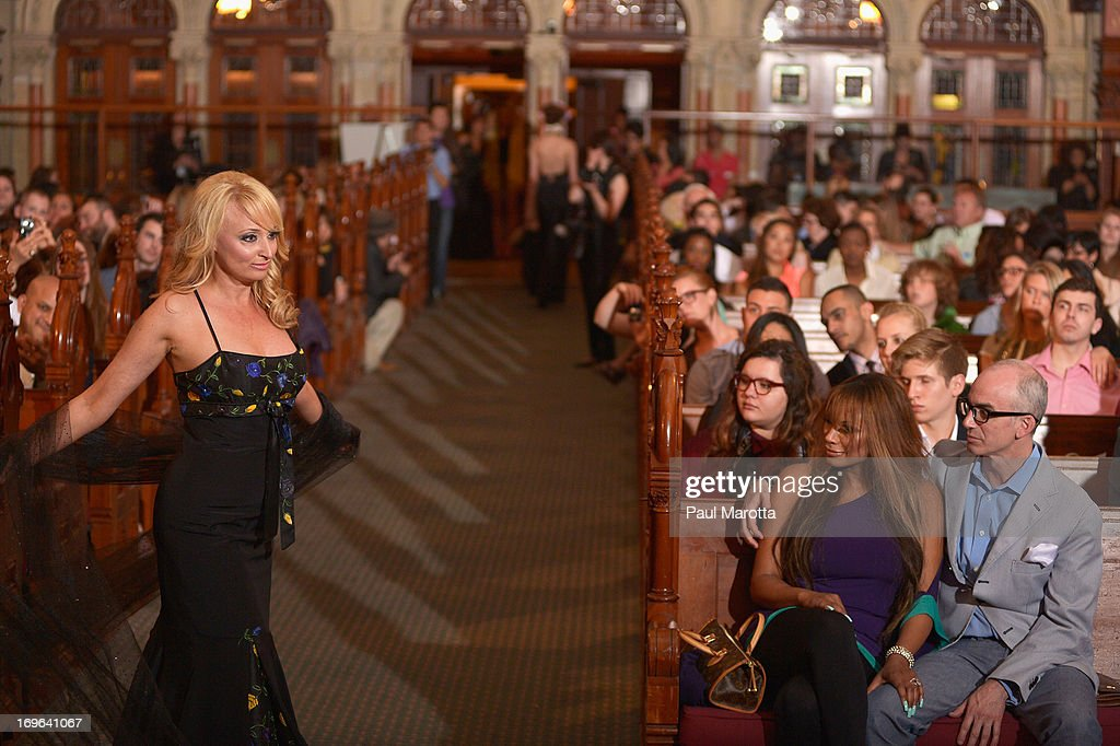 Models walk the runway at 'Fashion Is Our Sanctuary' Benefit For The One Fund at Old South Church on May 29, 2013 in Boston, Massachusetts.