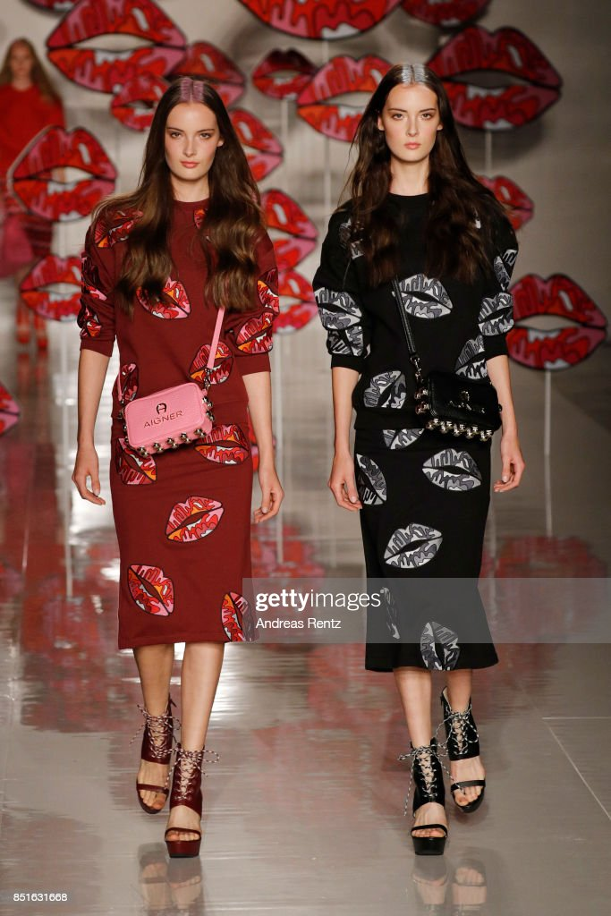 models-walk-the-runway-at-the-aigner-show-during-milan-fashion-week-picture-id851631668