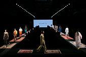 Duarte - Catwalk - Mercedes Benz Fashion Week Madrid -...