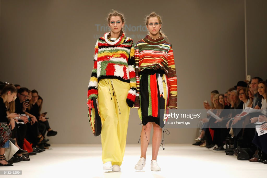 models-walk-the-runway-at-the-fad-show-during-the-london-fashion-week-picture-id643249256