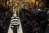 Models walk the runway at the Max Mara Autumn Winter 2016 fashion show during Milan Fashion Week on February 25 2016 in Milan Italy
