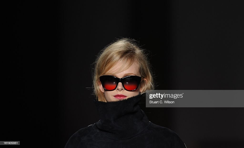 Models walk the runway at the Paul Smith show during London Fashion Week Fall/Winter 2013/14 at on February 17, 2013 in London, England.