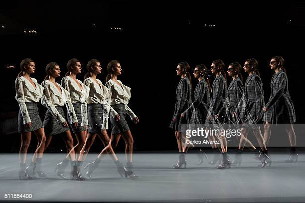 Mercedes Benz Madrid Fashion Week Stock Photos and ...