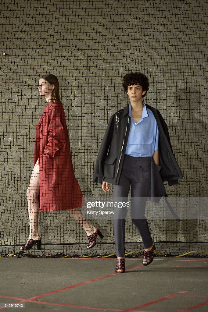 Models walk the runway during the Avoc Menswear Spring/Summer 2017 show as part of Paris Fashion Week on June 25, 2016 in Paris, France.