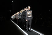 Dior Homme : Runway - Paris Fashion Week - Menswear F/W...