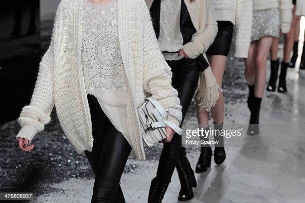 Models walk the runway during the Zadig Voltaire show as part of Paris Fashion Week Womenswear Fall/Winter 20142015 on March 5 2014 in Paris France
