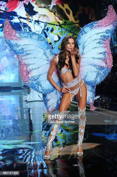 Models walk the runway for THE VICTORIA'S SECRET FASHION SHOW on Tuesday Dec 2 2014 The show is scheduled to air Tuesday Dec 9 1000 PM ET/PT on the...