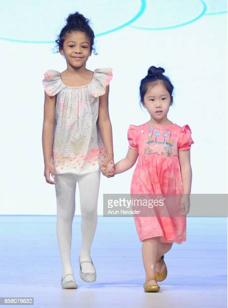 Models walk the runway wearing I Haven't The Foggiest at Vancouver Fashion Week Fall/Winter 2017 at Chinese Cultural Centre of Greater Vancouver on...