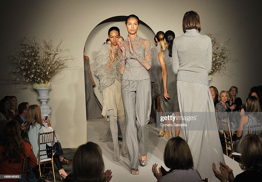 Models walk the runway wearing Ralph Lauren at C.H.I.P.S Colleagues Helpers in Philanthropic Service Children's Institute annual charity luncheon at The Four Seasons Hotel on May 8, 2014 in Beverly Hills, California.
