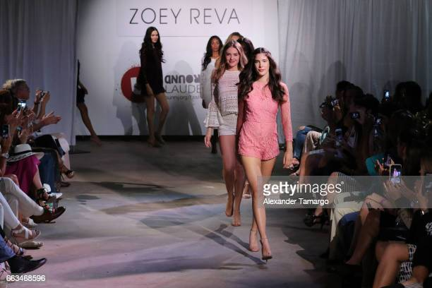 Models walk the runway wearing Zoey Reva at Underground Lauderdale Fashion Weekend Brought To You By The Greater Fort Lauderdale Conventions Visitors...